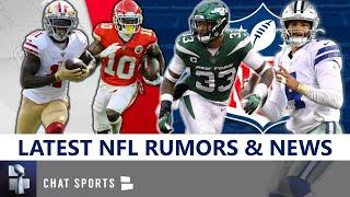 NFL News & Rumors: Jamal Adams Trade? Tyreek Hill vs. Marquise Goodwin, Dak, LeSean McCoy, NFLPA