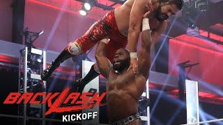 Apollo Crews surprises Andrade with impressive counter: WWE Backlash 2020 (WWE Network Exclusive)