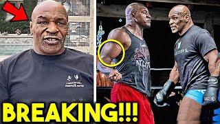 """*WOW* Mike Tyson CALLS OUT Holyfield after KNOCKOUT vs Roy Jones Jr """"WE DO IT FOR THE HUMANITY"""""""