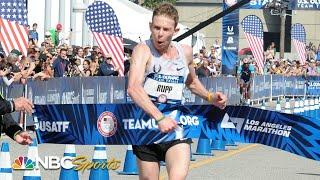 Galen Rupp wins his first ever marathon to punch Olympic ticket in 2016 | NBC Sports