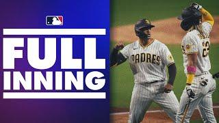 Padres 7th-inning takeover vs Dodgers! Featuring 5 HUGE runs to take the lead!