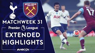 Tottenham vs. West Ham United | PREMIER LEAGUE HIGHLIGHTS | 6/23/20 | NBC Sports