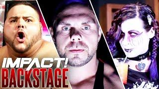 Rosemary SCHEMES, Michael Elgin's WARNING, XXXL ARRIVES! | IMPACT Wrestling Backstage