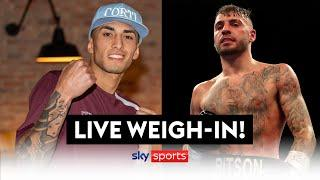 LIVE WEIGH-IN! Lewis Ritson vs. Jeremias Ponce!