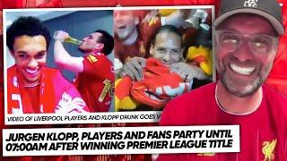LIVERPOOL PLAYERS REACT TO WINNING THE PREMIER LEAGUE! | #WNTT