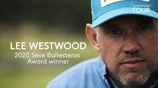 Lee Westwood wins Seve Ballesteros Award 2020 Players' Player of the Year
