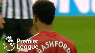 Marcus Rashford gets his goal to extend Man United's edge v. Newcastle | Premier League | NBC Sports