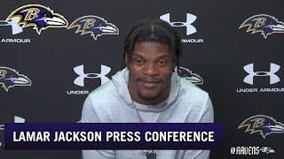 Lamar Jackson: I'm Getting Very Comfortable | Baltimore Ravens