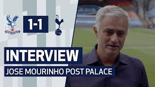 INTERVIEW | JOSE MOURINHO ON PALACE DRAW AND EUROPA LEAGUE QUALIFICATION | Crystal Palace 1-1 Spurs