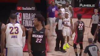 LeBron James & Jimmy Butler Have To Be Separated After HEATED Argument! | NBA FINALS 2020