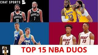 Top 15 NBA Duos Going Into The 2020-21 Season Ft. LeBron & Anthony Davis + Kyrie & Kevin Durant