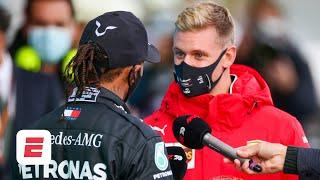 Mick Schumacher on Lewis matching his dad's record: 'Records are there to be broken' | F1 2021