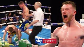 James Tennyson's STUNNING comeback knockout win against Martin J Ward | Fight Rewind
