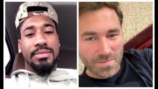 'I WANT BILLY JOE SAUNDERS' - DEMETRIUS ANDRADE TELLS EDDIE HEARN / TALKS CANELO, CHARLO & EUBANK JR