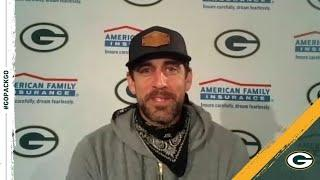 Rodgers: 'I Feel So Much More Comfortable In The Offense This Year'
