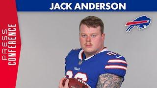 """Jack Anderson: """"I'm Ready for the Challenge""""   Buffalo Bills"""