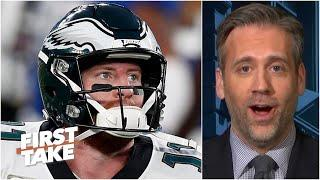 Carson Wentz will be the Bears' Week 1 starter - Max Kellerman predicts | First Take