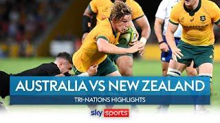 Australia & New Zealand play out thriller! | Australia vs New Zealand | Tri-Nations Highlights