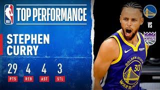 Stephen Curry Goes For 29 PTS, 4 REB, 4 AST & 3 STL!
