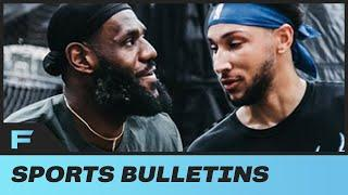 LeBron James & Ben Simmons Appear In TOP Shape During Joint Workout In LA