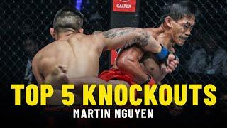 Martin Nguyen's Top 5 Knockouts
