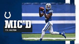 """""""Y'all Need To See Some More?""""   T.Y. Hilton Mic'd Up at Colts Camp"""