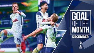 DECEMBER GOAL OF THE MONTH | ft. Son, Kane, Lo Celso, Bale, Davies and Ndombele!