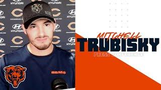 Mitchell Trubisky on starting vs Green Bay: 'I'm excited for this week' | Chicago Bears