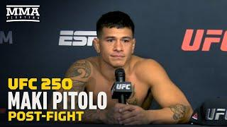 UFC 250: Maki Pitolo Plans to Stay at Middleweight Following TKO Win - MMA Fighting