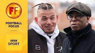 Kalvin Phillips shows Ian Wright around where he grew up in Leeds