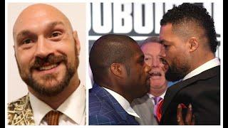 'BEST BRITISH HEAVYWEIGHT CLASH SINCE ME & CHISORA FOUGHT' - TYSON FURY IS PUMPED FOR DUBOIS v JOYCE