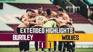 Jimenez volleys his 17th goal of the season | Burnley 1-1 Wolves | Extended highlights