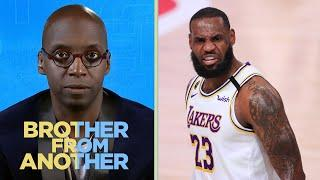LeBron James still evolving as Lakers face Nuggets | Brother From Another | NBC Sports