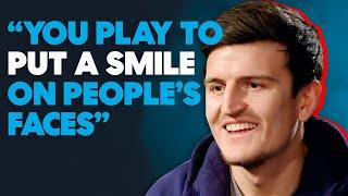 Harry Maguire on Signing for Manchester United, Scoring for England and THAT Meme.