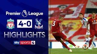 Fabinho hits thunderbolt in ruthless Liverpool win! | Liverpool 4-0 Crystal Palace | EPL Highlights