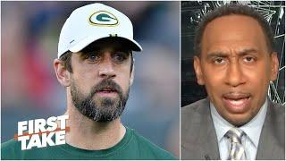 Stephen A.: The Packers don't give a damn about how Aaron Rodgers feels! | First Take