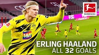 Erling Haaland - 32 Goals In Only 34 Matches