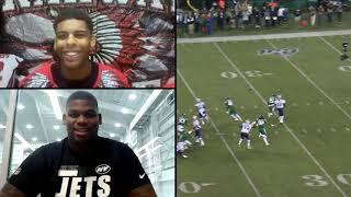 Next Generations: Quinnen Williams Breaks Down Tape With Young Football Star | New York Jets | NFL