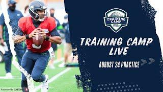 August 24th Practice of 2020 Seahawks Training Camp