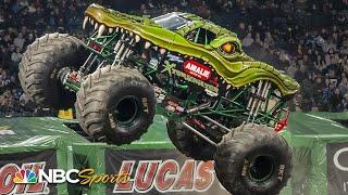Monster Jam 2020: Anaheim, CA | EXTENDED HIGHLIGHTS | Motorsports on NBC