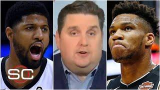 Brian Windhorst on Paul George's extension and Giannis' pending decision | SportsCenter