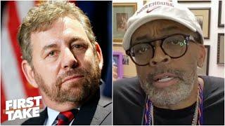 Spike Lee: 'Mr. Dolan does not make it easy for me to be a Knicks fan' | First Take