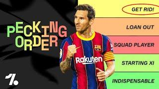 TIER LIST: Ranking EVERY Barcelona squad player!  El Clasico Special