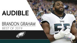 Brandon Graham's Best Mic'd Up Moments from 2019 | Eagles Audible
