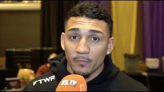 'BEAT LOMA, BECOME UNDISPUTED & MOVE UP TO 140' - TEOFIMO LOPEZ INTERVIEW FROM BACK IN FEBRUARY