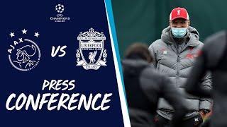 Liverpool's Champions League press conference | Ajax