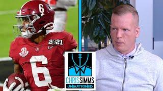 Chris Simms' Top 6 2021 NFL Draft WR rankings | Chris Simms Unbuttoned | NBC Sports
