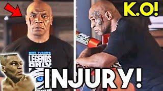 """*BREAKING* MIKE TYSON:""""WHAT IF I LOSE TO ROY JONES JR?"""" *HURT IN SPARRING FOR EXHIBITION FIGHT*"""