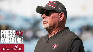 Bruce Arians on Facing Chargers Quarterback Justin Herbert | Press Conference