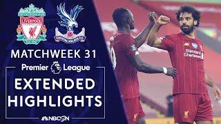 Liverpool v. Crystal Palace | PREMIER LEAGUE HIGHLIGHTS | 6/24/2020 | NBC Sports